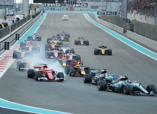 Formel 1 Finale Abu Dhabi 2017