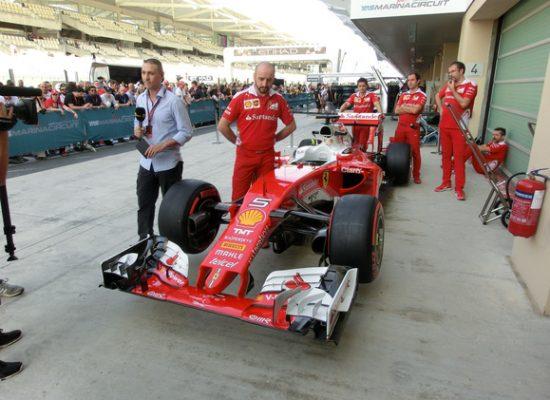 Formel 1 Finale Abu Dhabi 2016